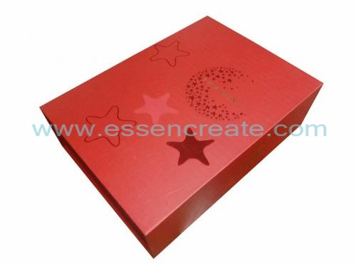 Two Wine Bottles Packaging Foldable Box